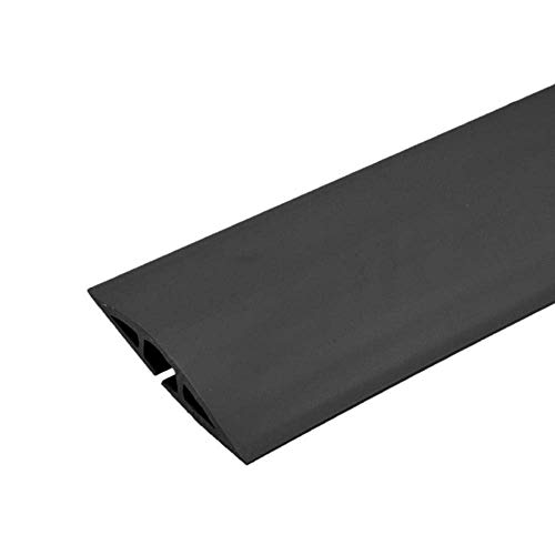Legrand - Wiremold CDBK-50 Corduct Overfloor Cord Protector-  Rubber Duct Floor Cord Cover, Black (50 Feet) by Wiremold (Image #6)