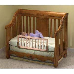 Kidco Convertible Crib Bed Rail Finish Natural