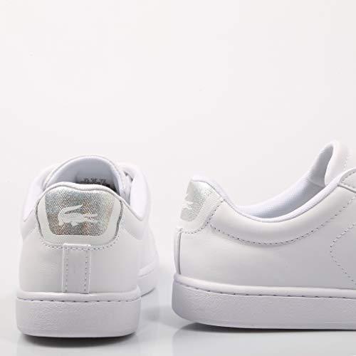 Carnaby Para Evo 37sfa0018 219 Mujer Zapatillas Lacoste Blanco 1 Blancas 1q8dxH6
