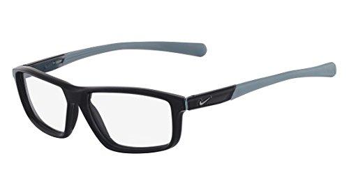 Nike eyeglasses 7086 013 Plastic Black - Matt Grey