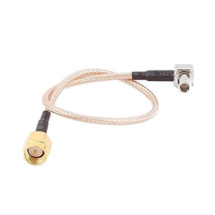 DealMux MS147 macho para SMA-J Masculino RG316 cabo coaxial Pigtail 20 centímetros