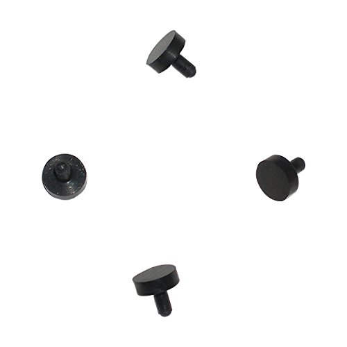 4 Black Rubber Replacement Ball Detents Spyder Electra Pilot Fenix Paintball Gun
