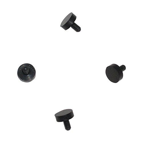 (4 Black Rubber Replacement Ball Detents Spyder Electra Pilot Fenix Paintball Gun)