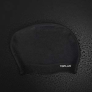 TOPLUS Swim Cap Women Long Hair Swim Cap 3D Ergonomic Design