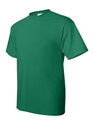 Heavyweight Adult Tee Baseball - Hanes ComfortBlend EcoSmart Crewneck Men's T-Shirt, Green, L