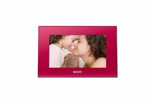 UPC 027242778122, Sony DPF-D72 7-Inch LCD WVGA 16:10 Photo Frame (Red)