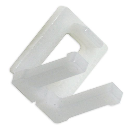 Aviditi PS12PLBUCK Plastic Poly Strapping Buckle, 1/2