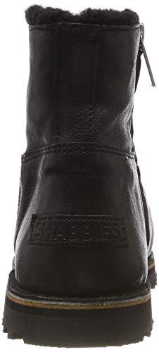 Shabbies 0001 Shs0289 Donna Nero Amsterdam Stivali black Yaz4nqwTar