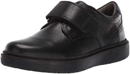 Subir mezcla Camino  Geox Boys' RIDDOCK 4 Velcro Dress Sneaker Shoe School Uniform, Black  Oxford, 35 Medium EU Big Kid (3.5 US): Buy Online at Best Price in UAE -  Amazon.ae