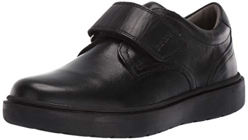 Geox Unisex-Child Riddock Boy 4 Hook-and-Loop Dress Sneaker Shoe School Uniform