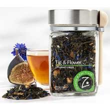 Zhenas Gypsy Organic Fig and Flower Green Tea, 2 Ounce -- 4 per case.