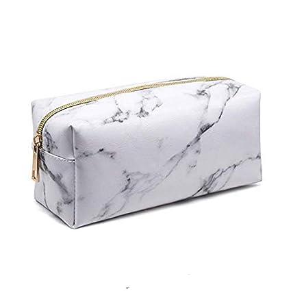 Minisu - Estuche para cosméticos, diseño de mármol, color ...