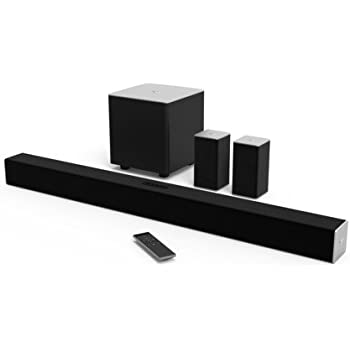 VIZIO SB3851-C0 38-Inch 5.1 Channel Sound Bar with Wireless Subwoofer and Satellite Speakers (2015 Model)