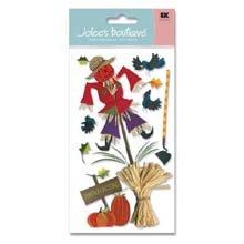 EK Success Jolee's Boutique Le Grande Harvest Stickers-Pumpkin Picking