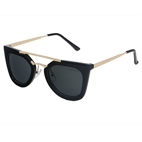 Evebright Womens Squared Plastic Sunglasses product image