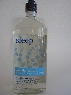 Ванна и Body Works Лаванда Ароматерапия сна Vanilla 10 Oz Body Wash и пенная ванна