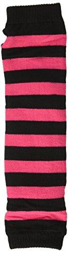 Forum Novelties 64138 80's Striped Fingerless Gloves