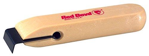 Red Devil 3010 Single-Edge Plastic (Plastic Wood Veneer)