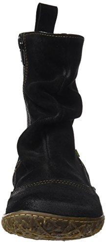 Naturalista N787 Lux Nido El Bottes Classiques Suede Rouge Femme Black Noir HF6wC6q