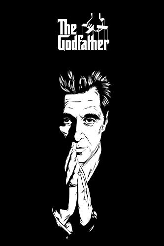 The Godfather The Godfather print movie posters movie print minimalist movie poster film poster film posters godfather movie typography A3 movie poster