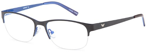 Girls Prescription Eyeglasses Rxable Size 52-17-135-34 in Black and Blue