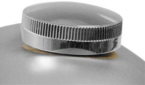 Paughco Long-Skirted Cam-Style Gas Cap - Wide Knurling 800LS2 ()