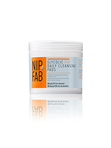 Nip + Fab Glycolic Fix Daily Cleansing Pads, 4.0 Ounce (Pads Glycolic)
