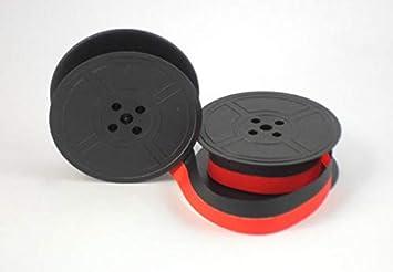 Compatible machine /à /écrire ruban Compatible avec Brother Deluxe 800/Noir//rouge
