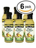 Walden Farm's Pear and White Balsamic Vinaigrette Salad Dressing, 12 Ounce (Pack of 6) by Walden Farms