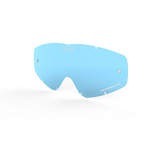 Beer Goggles Make (EKS Brand EKS-S GOX Flat-Out Crossfade ScatterX Beer Optics Goggle Lens Replacement with Tear-off posts, Polycarbonate, anti-scratch, anti-fog, 100% UVA protection (Blue))