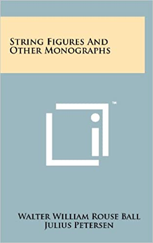 String Figures and Other Monographs