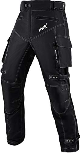 Motorcycle Pants For Men Dualsport Motocross Motorbike Pant Riding Overpants Enduro Adventure Touring Waterproof CE Armored All-Weather (Waist36