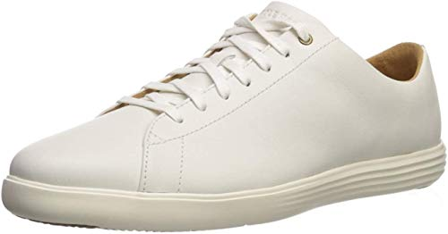 Cole Haan Men's Grand Crosscourt II Sneaker, White Leather, US 15M