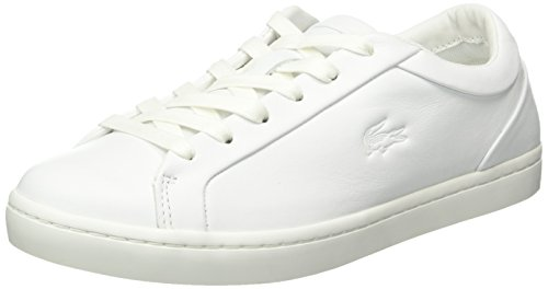 Lacoste Straightset 316 1 - Zapatillas Mujer Blanco - Weiß (Wht 001)