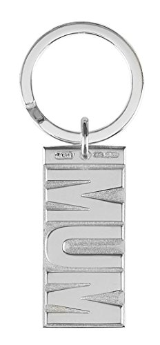 Silver Mum Key Ring by Orton West by Orton West