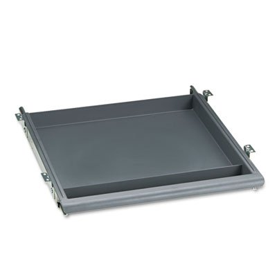 Durable and easily washable. - ICEBERG ENTERPRISES Aspira Utility Drawer, 14w x 14-1/2d x 1-1/2h, Charcoal by Iceberg