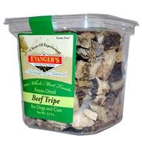 EVANGER'S-Beef Tripe Treat Dog/Cat Food, 3.5 oz. SINGLE