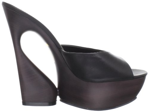 Pleaser Day & Night - Sandalias mujer, color negro, talla 40