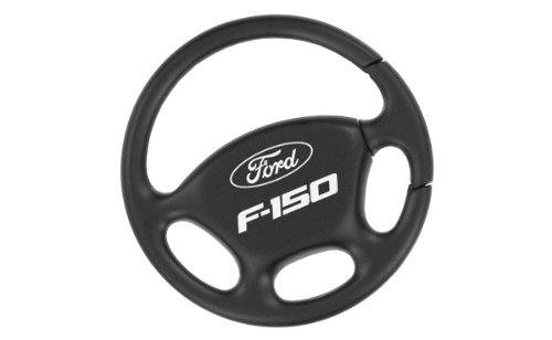- Ford F-150 Black Steering Wheel Key Chain Keychain Fob