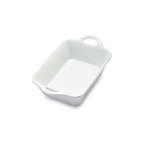 Sur La Table Rectangular Porcelain Baker UN30-206 , .5 qt. - Porcelain Baker