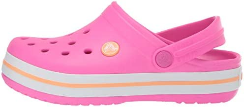 Crocs Unisex-Child Crocband Clog | Slip On Shoes for Boys and Girls | Water Shoes