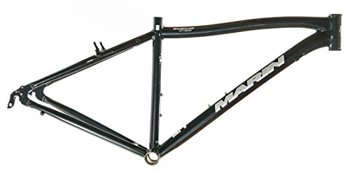 "22"" MARIN SAUSALITO Road Commuter Bike Frame Alloy Black 700c E3 Tubing NOS NEW"
