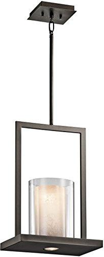 Kichler 42549OZ Triad Pendant 1-Light, Olde Bronze -