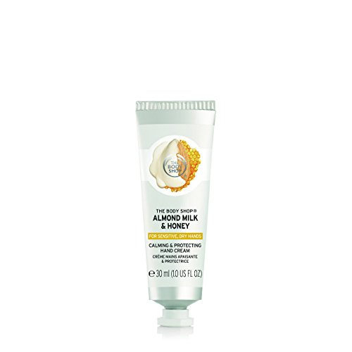 (The Body Shop Almond Milk & Honey Hand Cream 30ml )