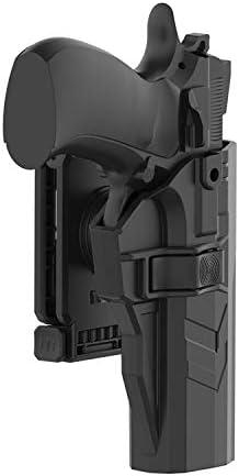 CZ 75B  Heavy Duty Premium Holster UNDERBELT Attach Dasta® CZ 75 SP-01 SHADOW
