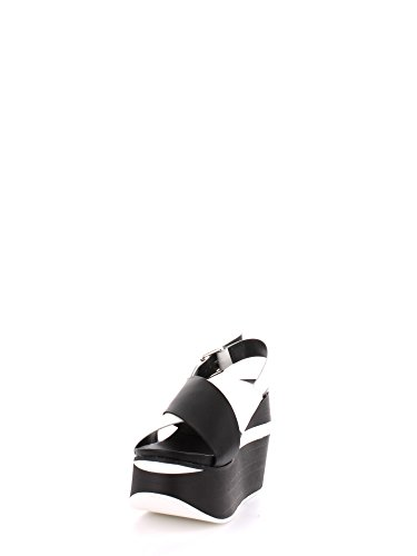 Cult CLE102169 Joe sandal 780 pelle nero - bianco