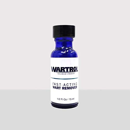 Wartrol - All Natural Wart Removal Treatment, New and Improved Formula, Easy Brush Application - 1 Pack by Wartrol