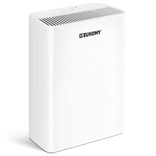 Euhomy Air Purifier for Home, Quiet 4-in-1 H13 True HEPA Air Filter, Four speed adjustment, Sleep Mode Timer Auto Mode…