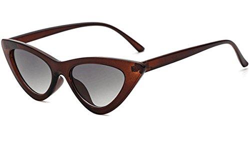 Couleurs Lunettes 15 Plage Plastique De Cat Sunglasses Vintage Soleil Coloré Lentille Eye Voyage EqPB7HZ