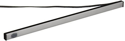 Cooler Master Accessory- Universal Red Magnetic LED Light Strip, SATA Connector, set of 2 LED Strip for Computer Cases ()